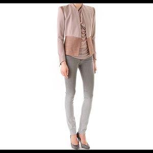 NWOT Helmut Lang Fade Gloss Wash Skinny Jeans